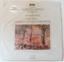 MORTON GOULD conducts APPLE WALTZES ~ TELDEC AUDIOPHILE LP ~ SEALED ~ RARE!