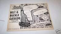 #4045 Vintage TANDY leather catalog #332