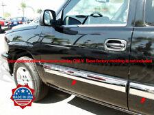 """2003-2006 Chevy Silverado/Sierra Crew Cab Body Side Molding Trim Overlay 3.5"""""""