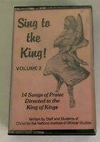 CHRIST OF THE NATIONS SING TO THE KING VOL 2 MUSIC WORSHIP PRAISE CASSETTE TAPE