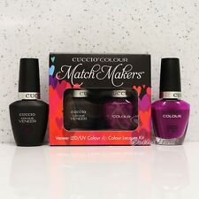 CUCCIO Veneer Match Makers - EYE CANDY IN MIAMI 6039 Gel & Nail Lacquer Duo Kit