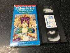 Grimms Fairy Tales: The Frog Prince Vhs Video - Fisher Price - Free Shipping
