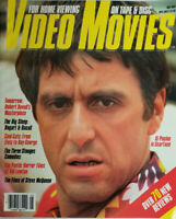 Video Movies Magazine May 1984 Al Pacino Scarface - Robert Duvall - No Label EX