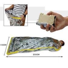 Emergency Blanket Survival Safety Insulating Mylar Thermal Heat Sleeping Bag
