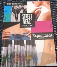 Advertising Street Wear Body Spray - posted 2001