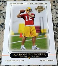 AARON RODGERS 2005 Topps Rookie Card RC Green Bay Packers HOT Superbowl MVP