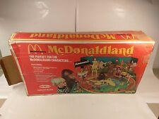 RARE VINTAGE REMCO MCDONALDLAND PLAYSET W/ORIGINAL FIGURES 1976 RONALD MCDONALD