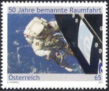 Austria 2011 VOLO SPAZIALE CON EQUIPAGGIO UMANO/Passeggiata NELLO SPAZIO/astronauti/razzi/SCIENZA 1 V at1055
