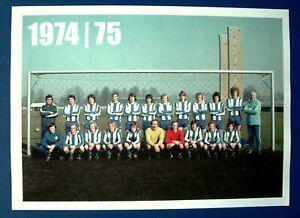 Mannschaftsbild Hertha BSC von 1974 '