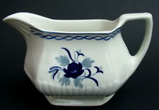Vintage Adams Blue Baltic Pattern Gravy Sauce Boat Only 16.5cm - Looks in VGC