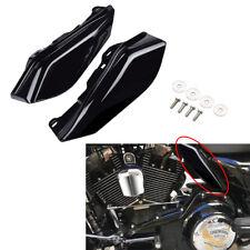 Mid Frame Heat Air Deflectors Fit for Harley Street Glide FLHX 2009-2018 Black