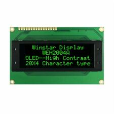 Winstar WEH002004AGPP5N00000 20x4 Green OLED Character Display