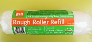 B & Q Rough Roller Refill for Emulsion & Masonry Paint