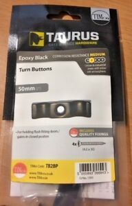 """TURN BUTTONS 50mm (2"""") Holding flush door gate fittings in closed position"""