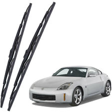 Genuine OEM Front Windshield Wiper Blades For 2003-2009 Nissan 350Z Full Series