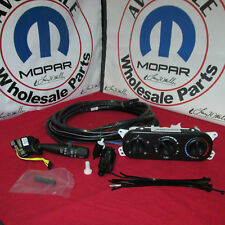 Jeep Wrangler Hard Top Switch and Wiring Kit with A/C Mopar OEM NEW