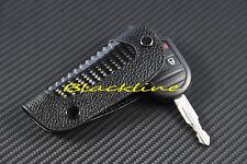 For Porsche Remote Key Leather Carbon Fiber Cover Holder 911 928 968 986 987 996