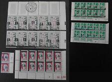 """1962 ALGERIE ** Surcharge """"EA"""" coin daté double surcharge  ALGERIA MNH"""