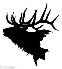 Elk Vinyl Hunting Decal 9724