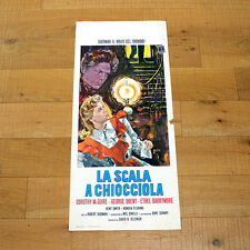 LA SCALA A CHIOCCIOLA locandina poster Spiral Staircase McGuire Brent U81