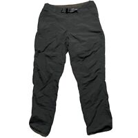 Outdoor Research Mens Equinox Pants Sz 32 Elastic Cuff Hiking Belted Gray