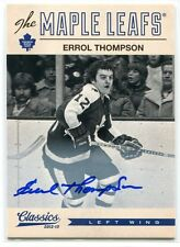 2012-13 Classics Signatures Autographs 23 Errol Thompson Auto