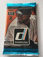 2014 Donruss Baseball Series 1 Hobby Pack.  **New?Sealed**  Trout, Mookie Betts?