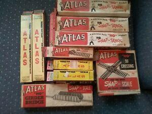 Atlas HO Scale track items
