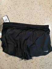 NWT -Altra split trail running shorts mens size L black