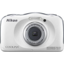 Nikon COOLPIX S33 13.2 MP Digital Camera - White