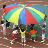 8 Handle 2m Kids Play Jumpsack Rainbow Parachute Outdoor Game Exercise Sport Toy