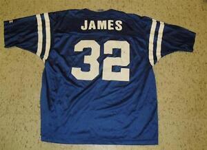 Edgerrin James champion Jersey Indianapolis Colts Sz adult XL sz. 48 Edge