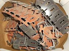 84 Stück Firstklammern Aluminium braun Braas 504103 für HO + N für Firstziegel