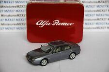 Coche Alfa Romeo 166 1998 Solido 1/43 Eme en Caja Metal