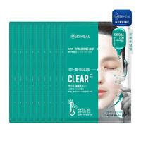 MEDIHEAL-Capsule 100 BIO Seconderm CLEAR α Mask Pack 23ml+HYALURONIC 4ml(10pcs)