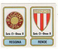 figurina CALCIATORI PANINI 1981/82 NEW numero 506 REGGINA RENDE