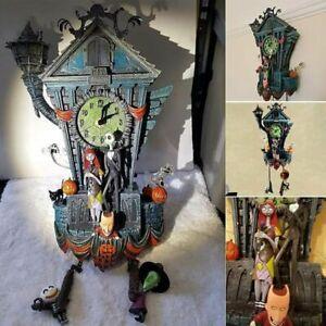 The Nightmare Before Christmas Cuckoo Wall Clock Halloween Wall Clock Decor New