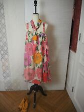 *** TWIN - SET *** Simona Barbieri *  wunderschönes Blumen Kleid L 40 ***