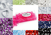 Wedding Table Crystals 100g packs Scatter Decoration Diamond Acrylic Confetti