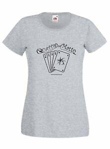 T-shirt Donna QLM_01 Quattro col Matto Manicomio Musicale Itinerante Band