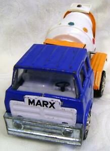 Mighty Marx Cement Mixer~Truck~Pressed Steel~Louis Marx & Co~Made in Japan~1971