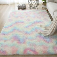 Anti-Skid Fluffy Shaggy Area Rug Carpet Home Bedroom Bathroom Floor Door Mat Usa