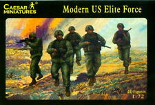 Caesar Miniatures 1/72 058 Modern US Elite Force Army