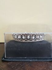 """New ListingFranklin Mint Queen Mary Lover's Knot Tiara Princess Diana 17"""" Doll Crown"""