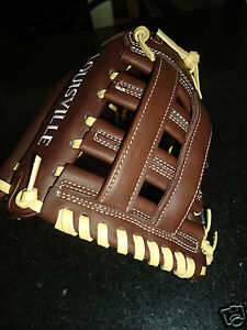 "LOUISVILLE SLUGGER PRO FLARE PF14ZN3 SLOWPITCH SOFTBALL GLOVE 13.5"" LH $219.99"
