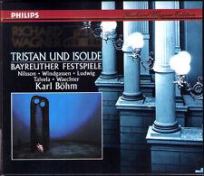 WAGNER: TRISTAN UND ISOLDE Wolfgang Windgassen Birgit Nilsson KARL BÖHM 3CD 1966