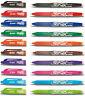 10 x Pilot Frixion Rollerball Pens Erasable 0.7mm Tip BL-FR7 - 10 Pens By Colour
