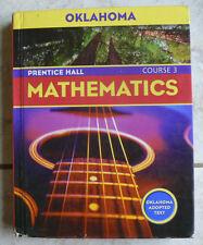 Prentice Hall Math Course 3, gr.8/8th  HC Text, 2004 Nice!