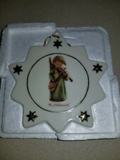Mj Hummel christmas ornaments 10 Point Star oranment .