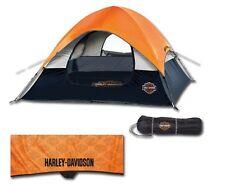 Harley-Davidson® Bar & Shield Road Ready 3-Man Camping Outdoor Tent HDL-10011A